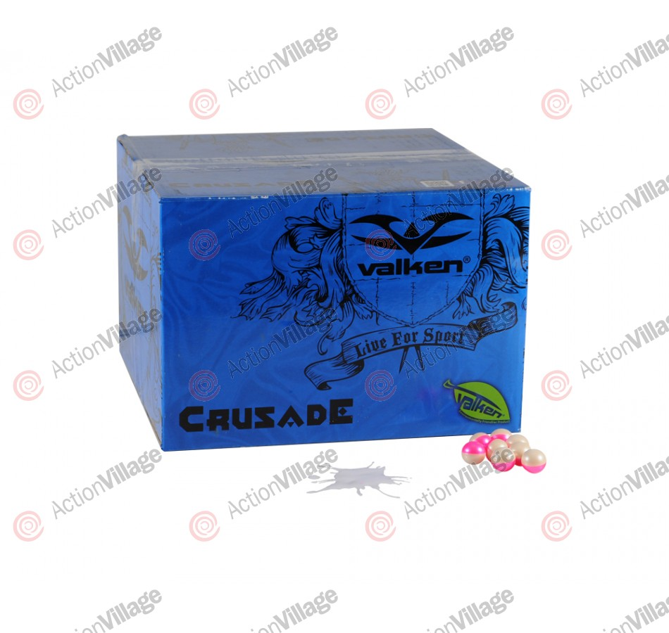Valken Crusade Paintball Case 1000 Rounds - White Fill