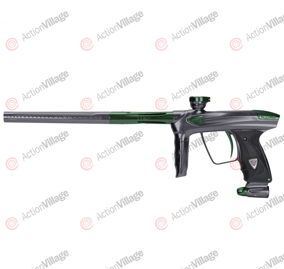 DLX Luxe 2.0 Paintball Gun - Pewter/British Racing Green