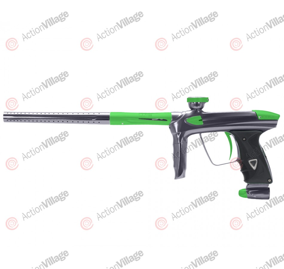DLX Luxe 2.0 Paintball Gun - Pewter/Dust Slime Green