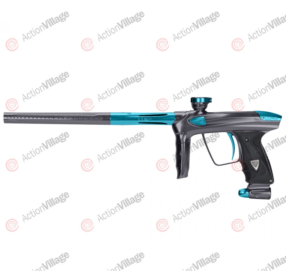 DLX Luxe 2.0 Paintball Gun - Pewter/Teal