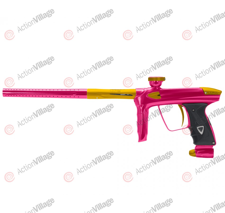 DLX Luxe 2.0 Paintball Gun - Pink/Dust Gold