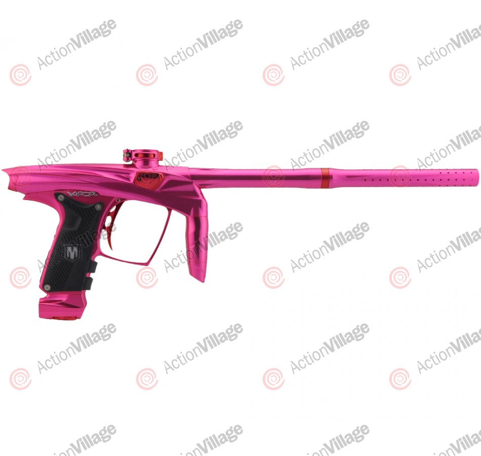 Machine Vapor Paintball Gun - Pink w/ Red Accents