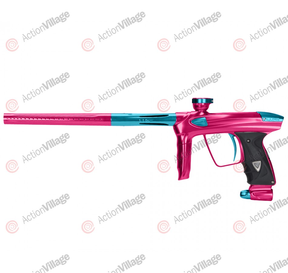 DLX Luxe 2.0 Paintball Gun - Pink/Teal