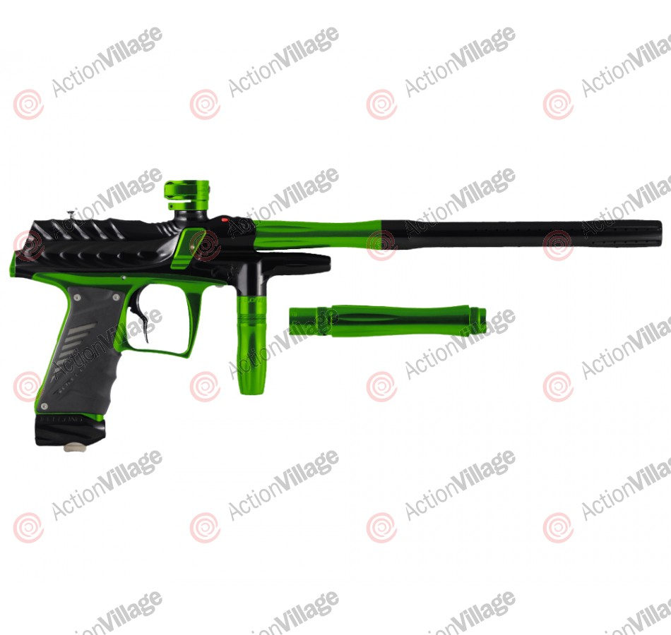 Bob Long Dragon G6R Intimidator - Polished Black/Polished Lime