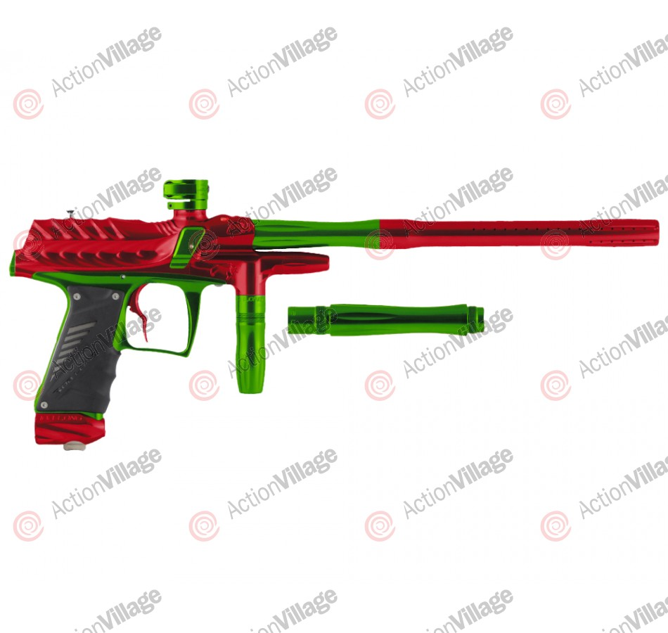 Bob Long Dragon G6R Intimidator - Polished Red/Polished Lime