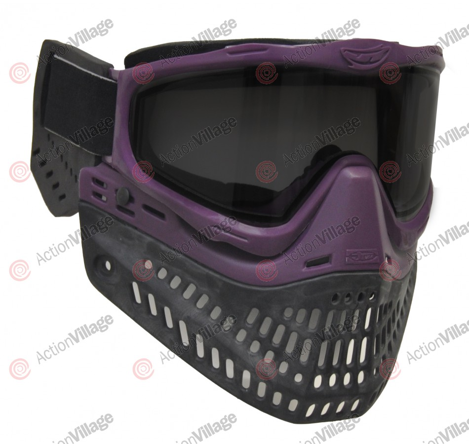JT ProFlex Thermal Paintball Mask w/ Smoke Lens - EPS Purple