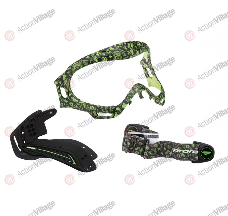 Proto Axis Pro Mask Color Kit - Hollywood Lime