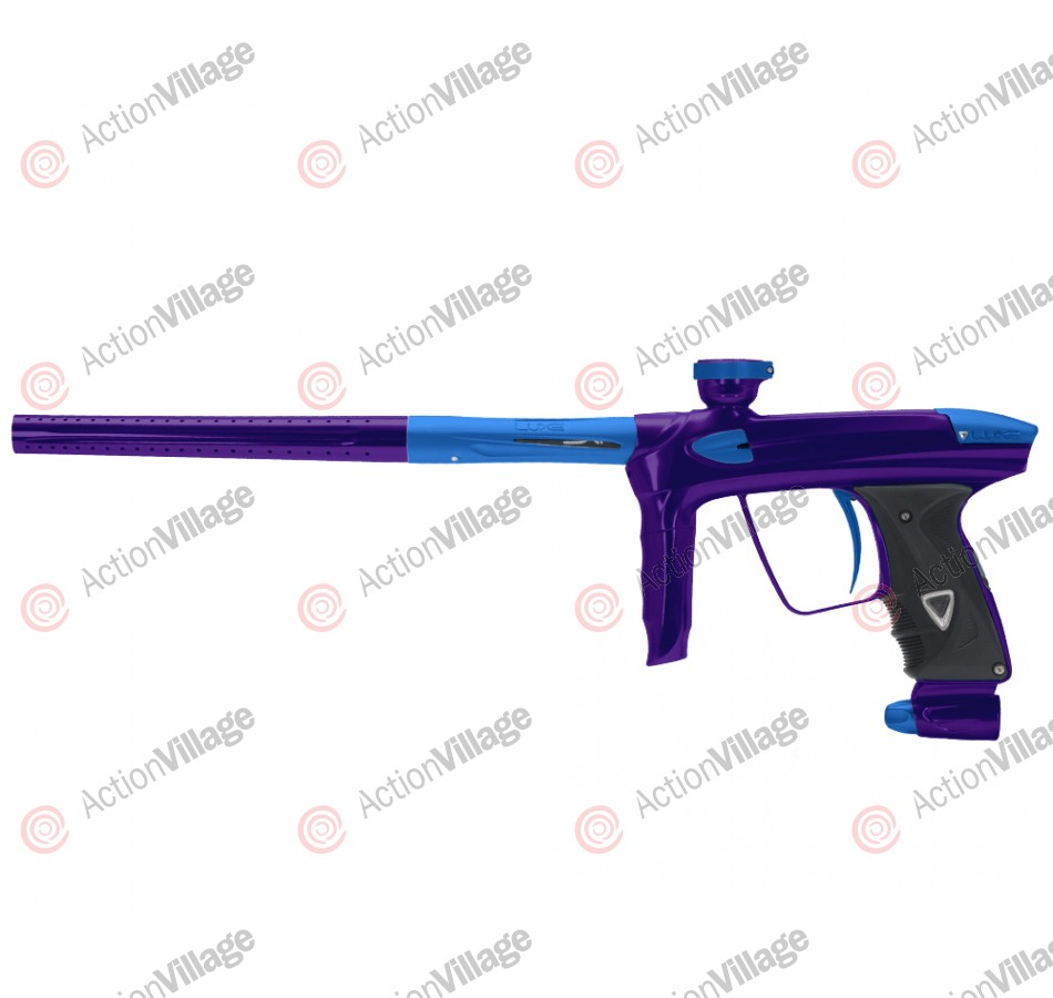 DLX Luxe 2.0 Paintball Gun - Purple/Dust Blue