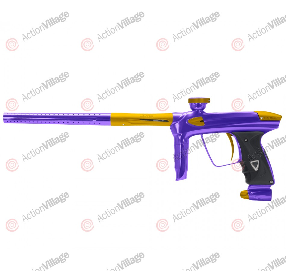 DLX Luxe 2.0 Paintball Gun - Purple/Dust Gold
