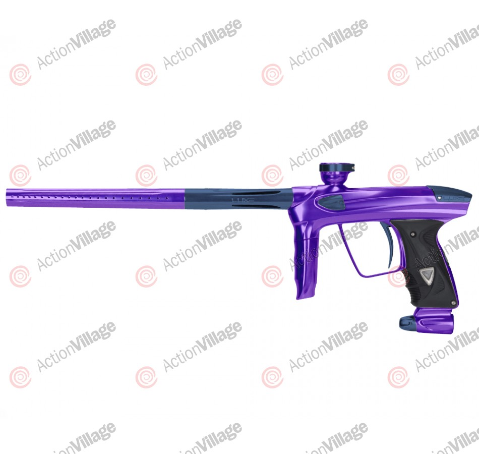 DLX Luxe 2.0 Paintball Gun - Purple/Gun Metal