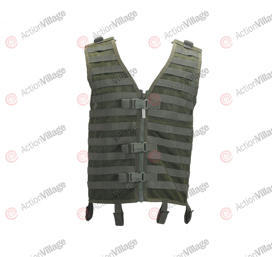 RAP4 Tactial Molle Modular Paintball Vest - Olive Drab