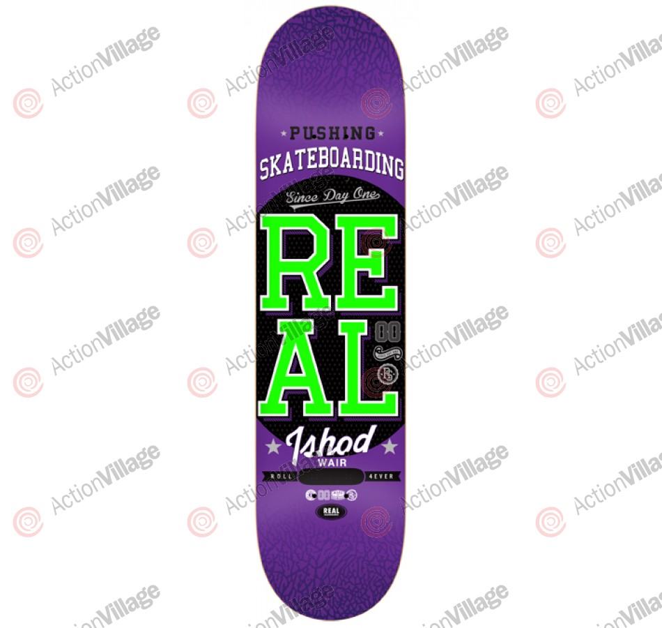 Real Wair Pushing - Purple - 8.38 - Skateboard Deck