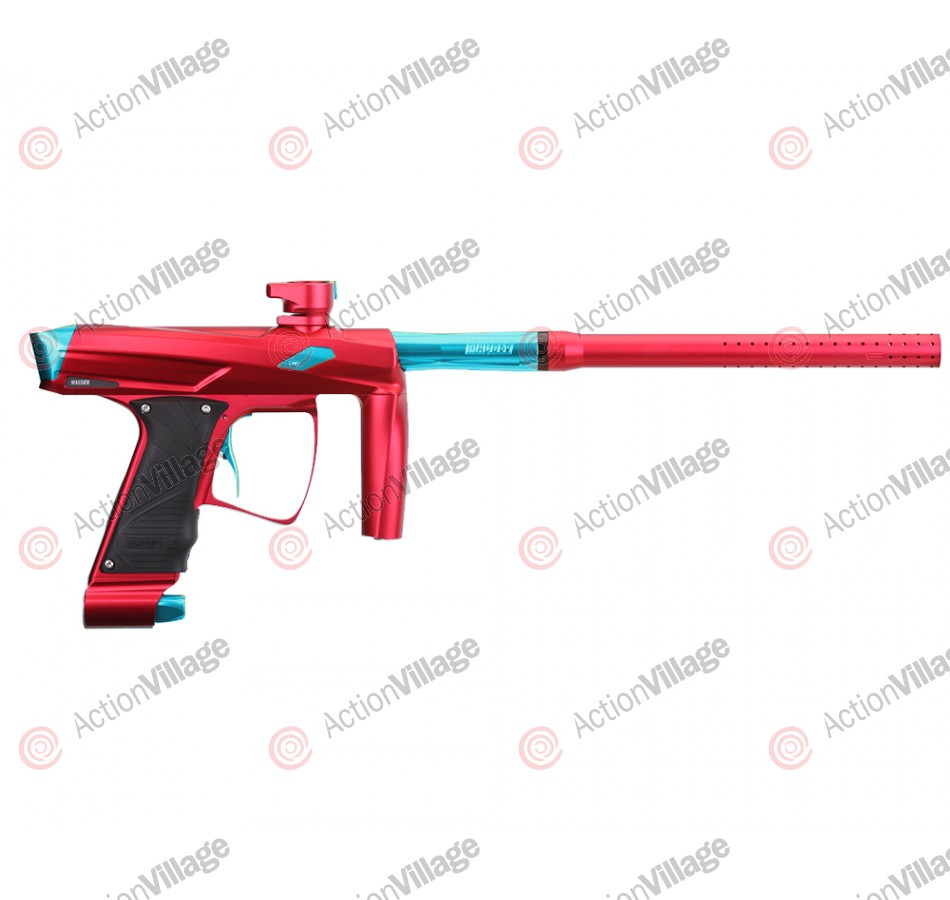 MacDev Clone GT Paintball Gun - Red/Aqua