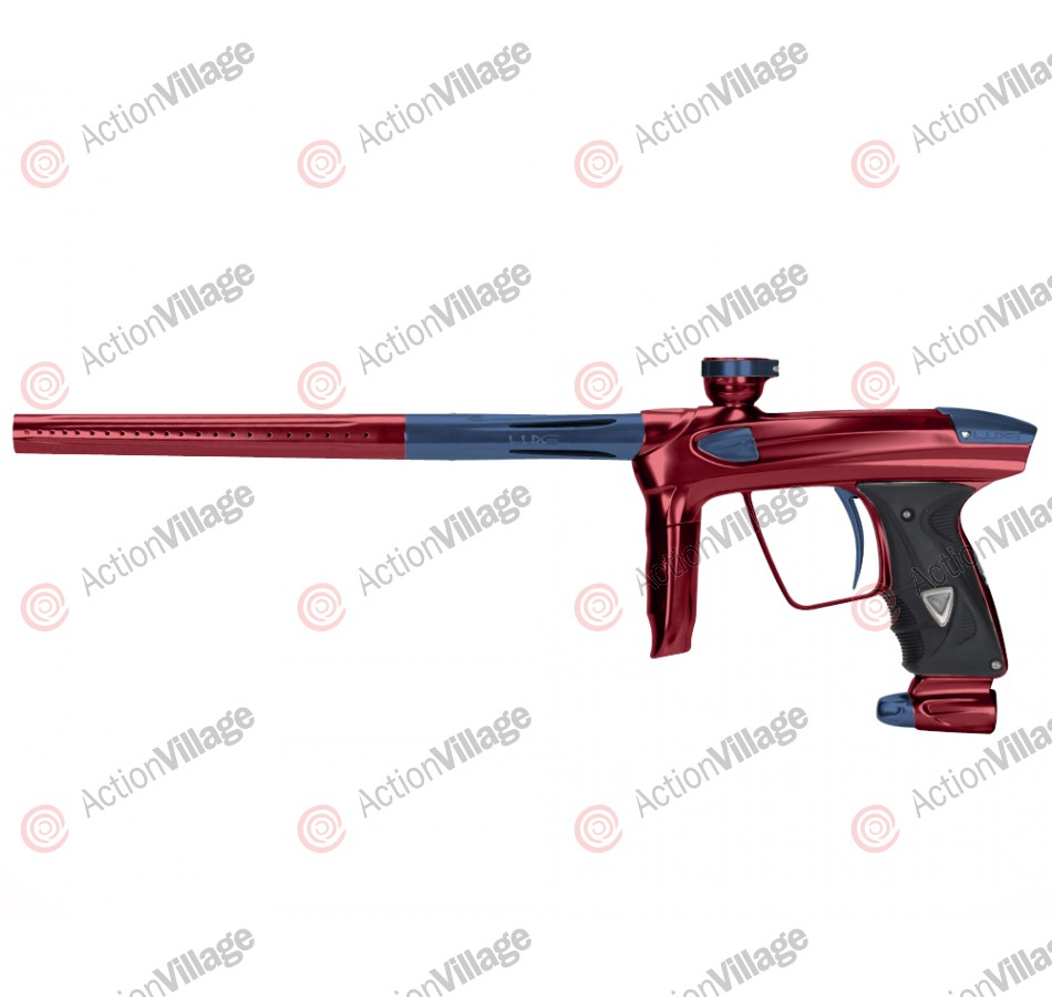 DLX Luxe 2.0 Paintball Gun - Red/Gun Metal