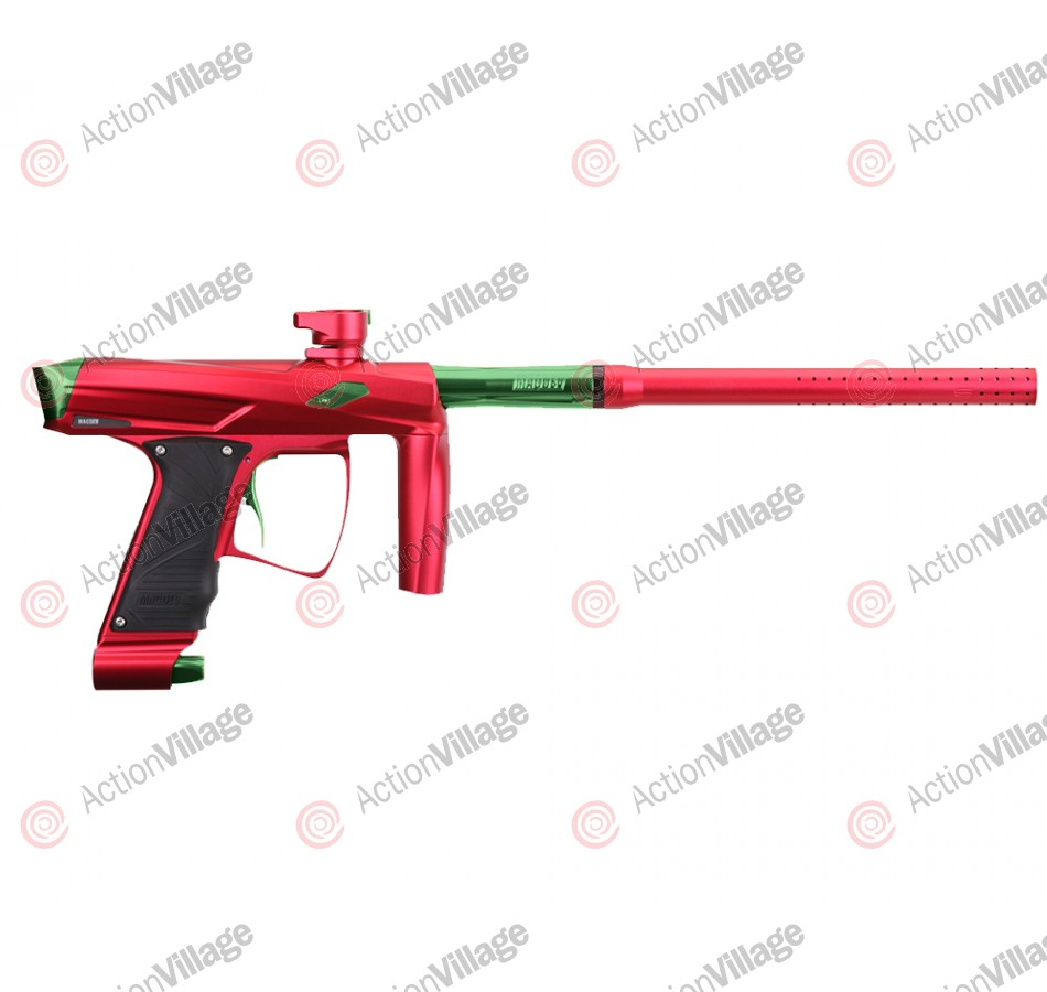 MacDev Clone GT Paintball Gun - Red/Lime