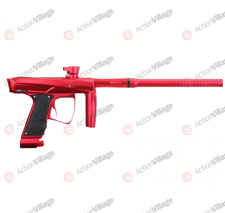MacDev Clone GT Paintball Gun - Red/Red