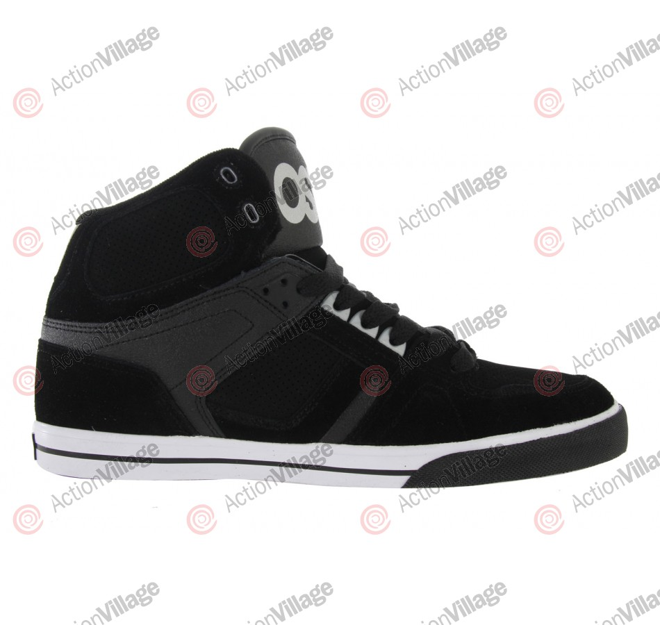 Osiris NYC 83 Vulc - Men's Shoes Black / White / 3M