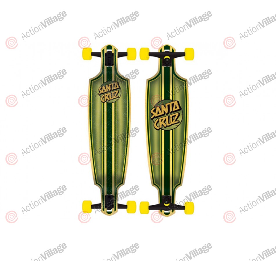 Santa Cruz Skate Squire Drop Thru Cruzer 9.6in x 37.8in - Complete Skateboard