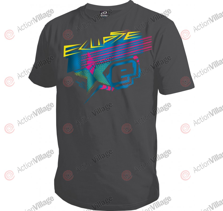 Planet Eclipse Men's 2011 SCSI T-Shirt - Charcoal
