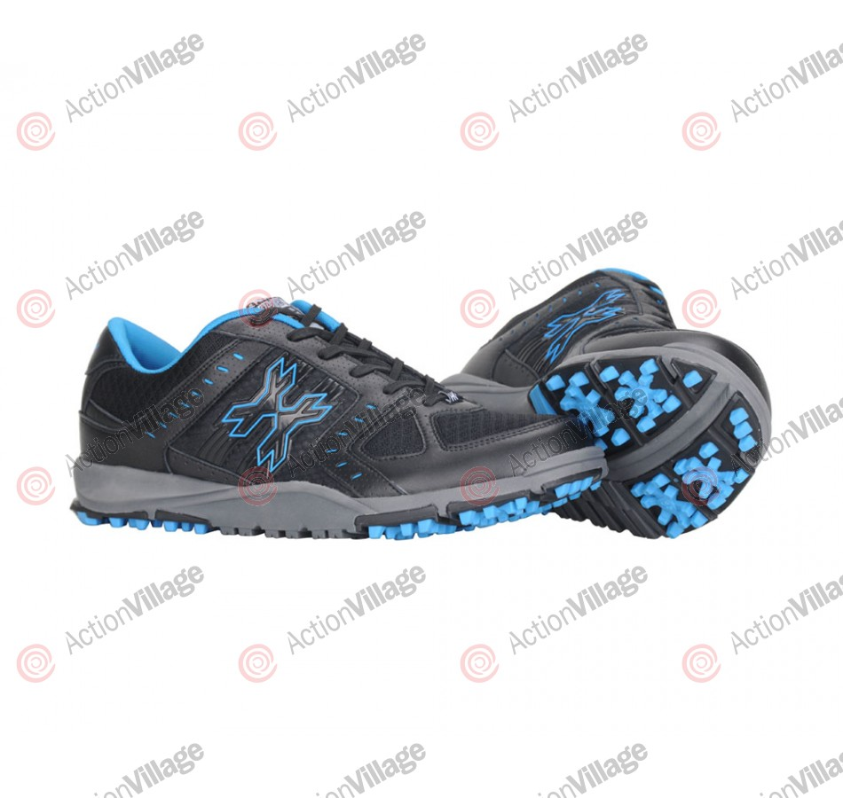 HK Shredder Paintball Cleats - Black/Blue
