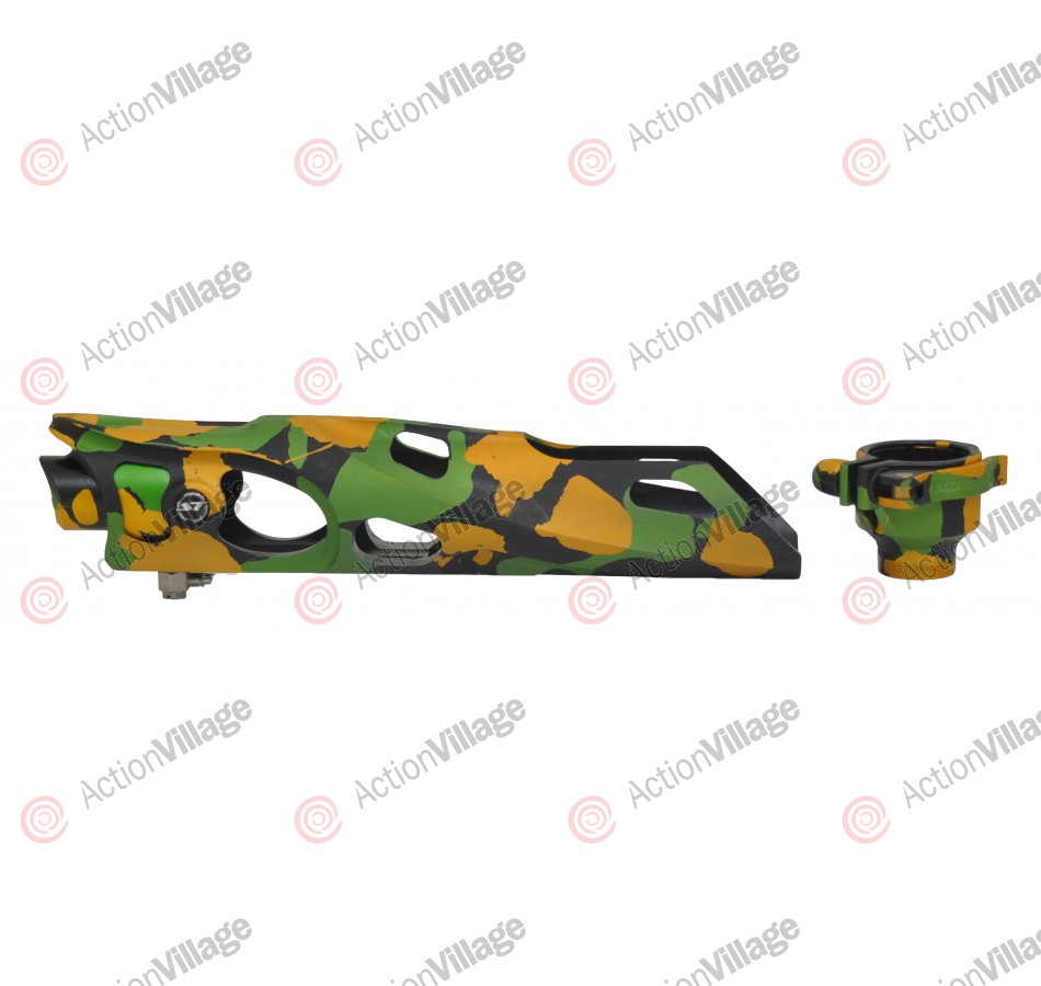 Shocktech Ion Body Kit w/ Feedneck - Woodland Camo