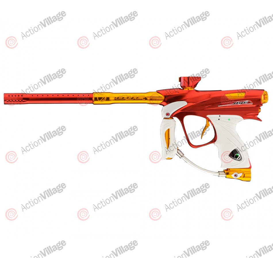 DYE DM12 Paintball Gun - Red/Orange Dust