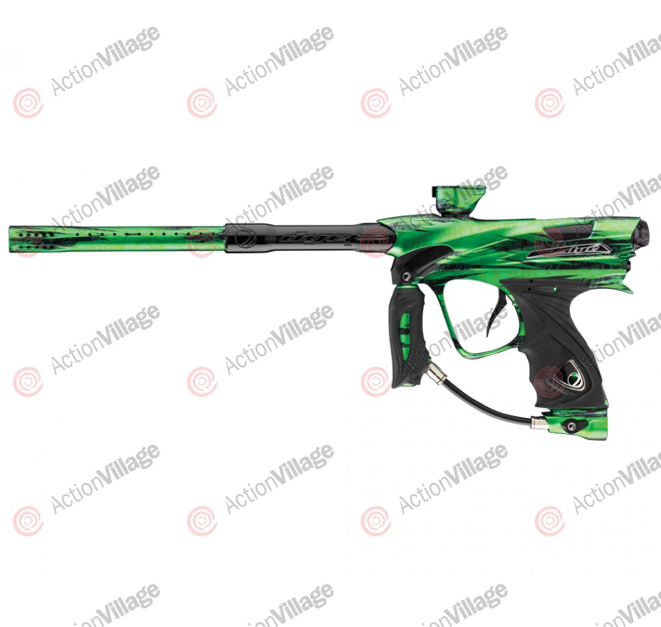 DYE DM12 Paintball Gun - PGA Tiger Lime