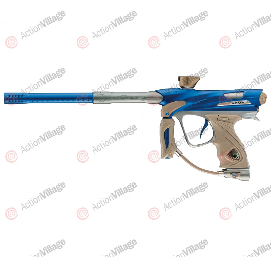DYE DM12 Paintball Gun - Blue/Graphite Dust