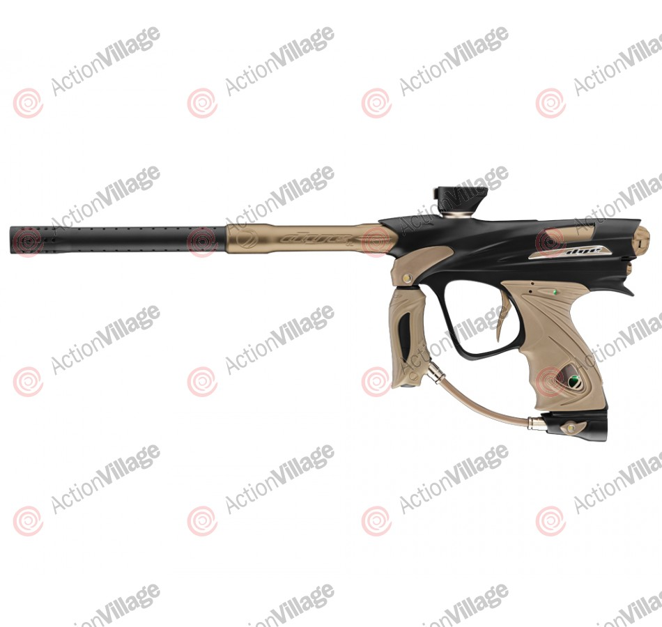 DYE DM12 Paintball Gun - Black/Tan Dust