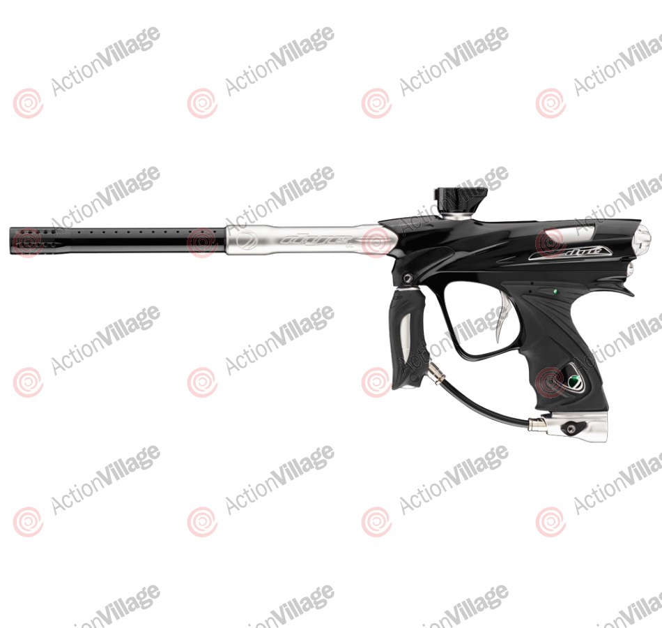 DYE DM12 Paintball Gun - Black Polish/Clear Dust