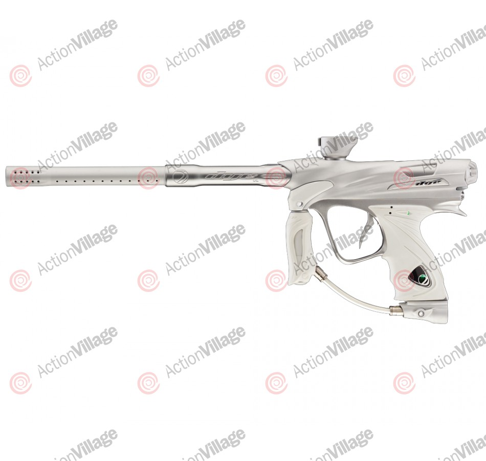DYE DM12 Paintball Gun - White/Grey Dust