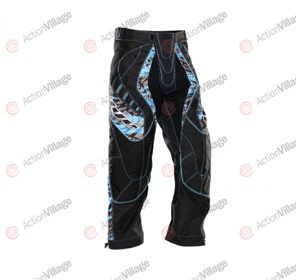 2012 Dye C12 Paintball Pants - Tiger Blue