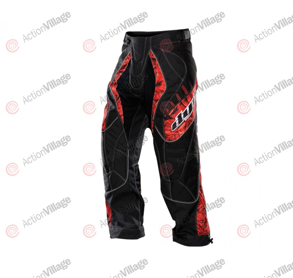 2012 Dye C12 Paintball Pants - Cloth Red