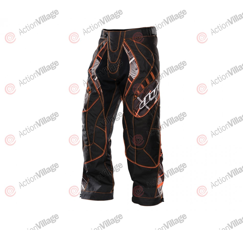 2012 Dye C12 Paintball Pants - Chevron Red