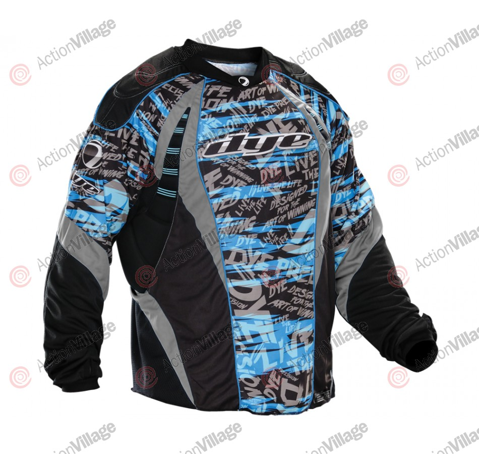 2012 Dye C12 Paintball Jersey - Tiger Blue