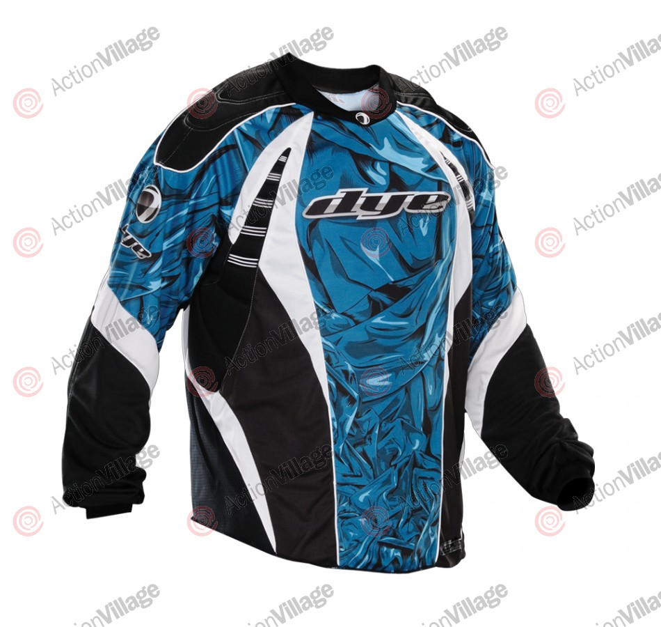 2012 Dye C12 Paintball Jersey - Cloth Blue