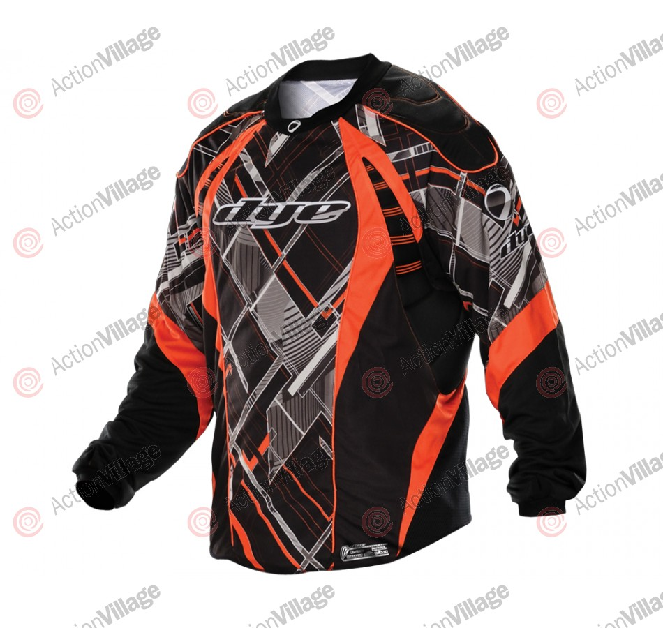 2012 Dye C12 Paintball Jersey - Chevron Red