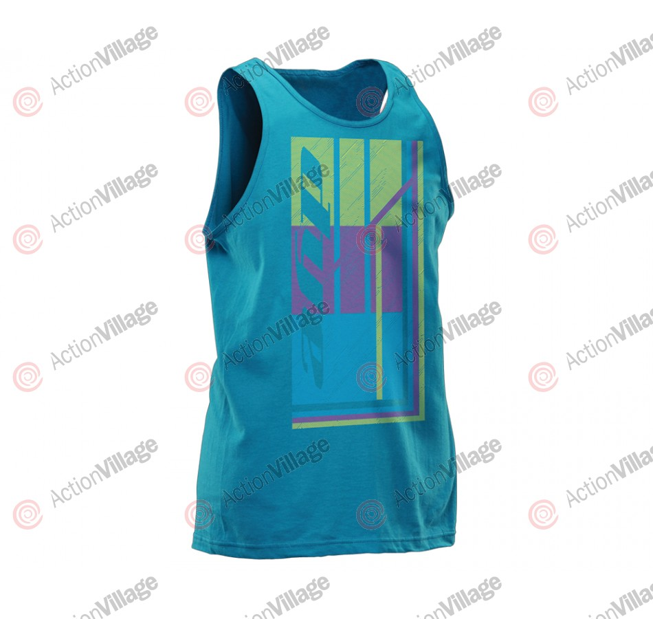 2012 Dye Hypno Tank Top - Light Blue