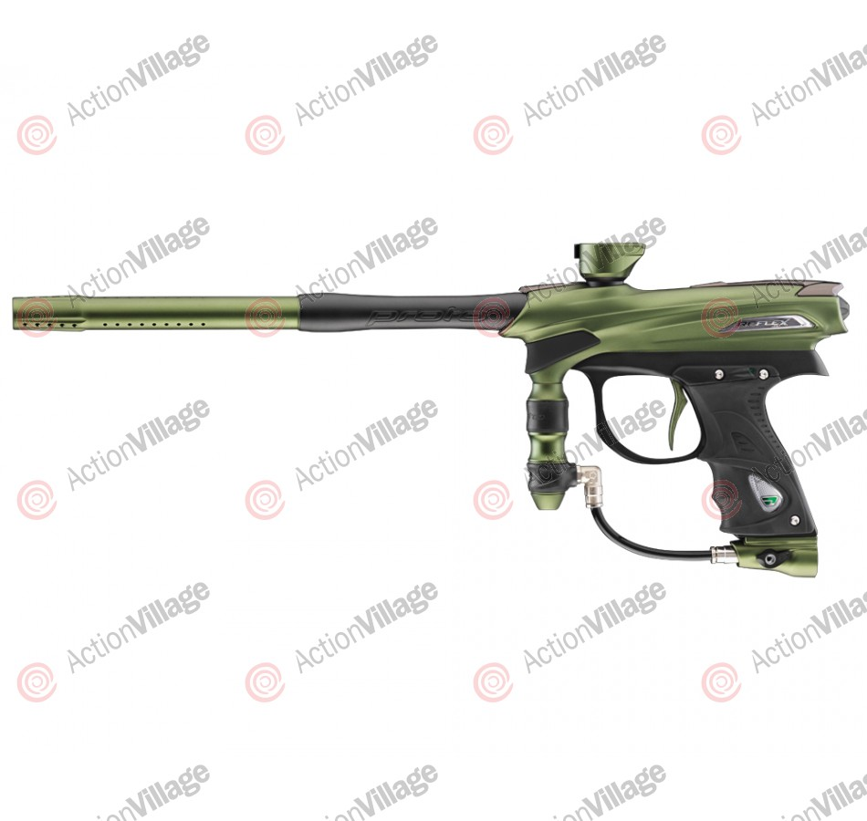 2012 Proto Reflex Rail Paintball Gun - Olive/Black Dust