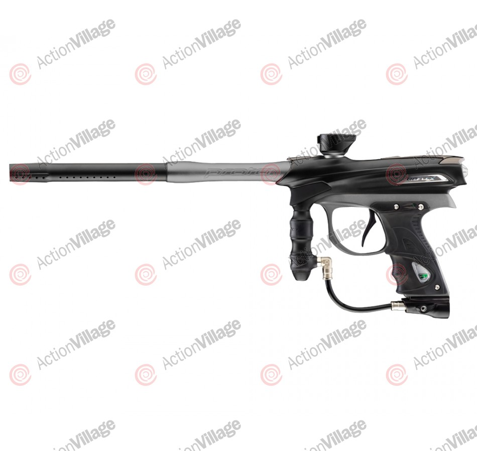 2012 Proto Reflex Rail Paintball Gun - Black/Graphite Dust