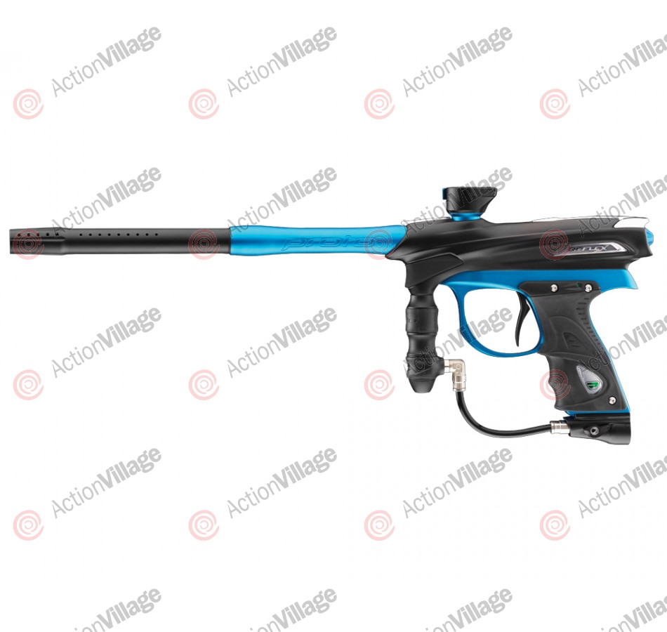 2012 Proto Reflex Rail Paintball Gun - Black/Teal Dust