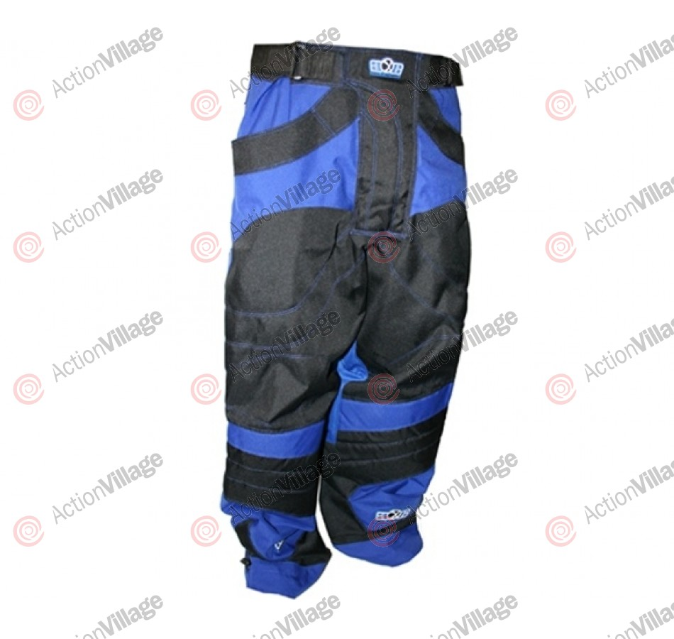 Gen X Global Paintball Pants - Black/Blue