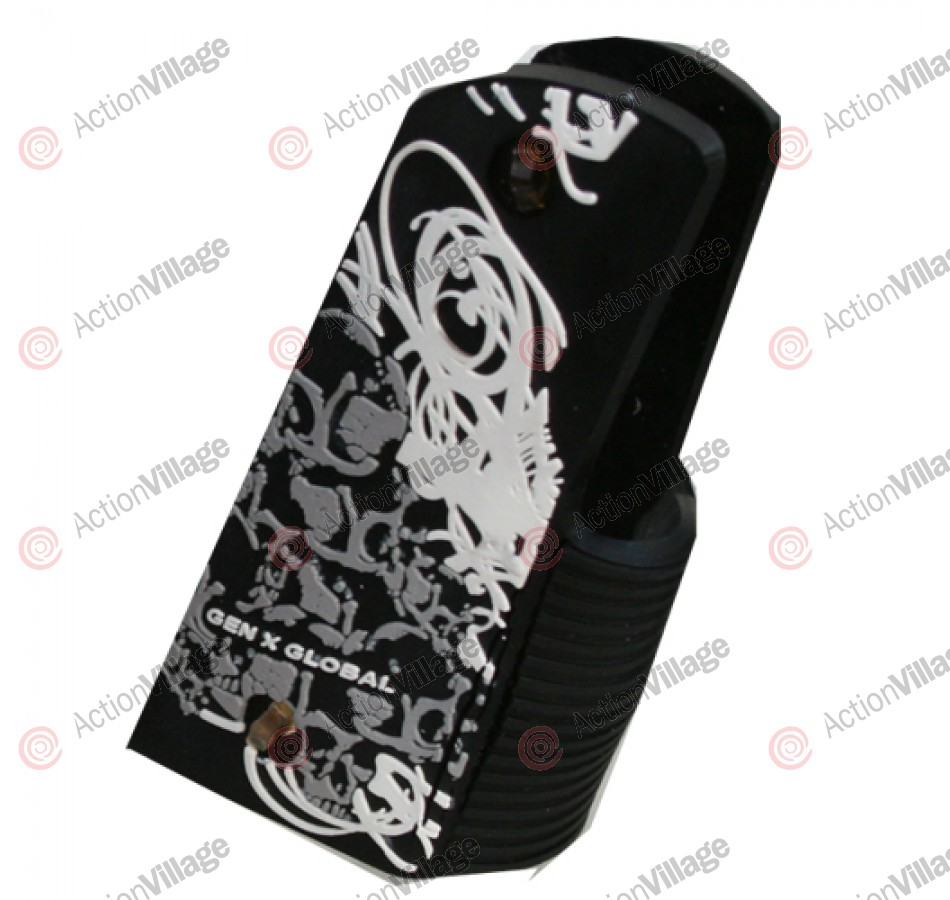 Gen X Global Skull Graffiti 45 Grip - Black/White/Grey