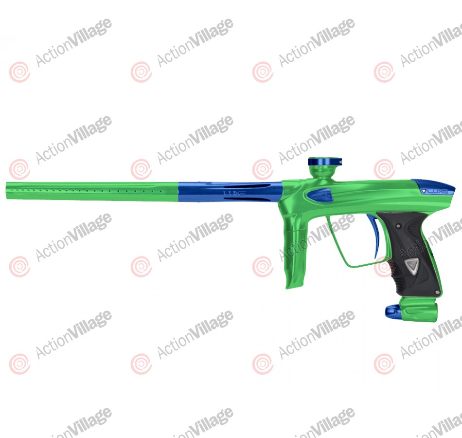 DLX Luxe 2.0 Paintball Gun - Slime Green/Blue