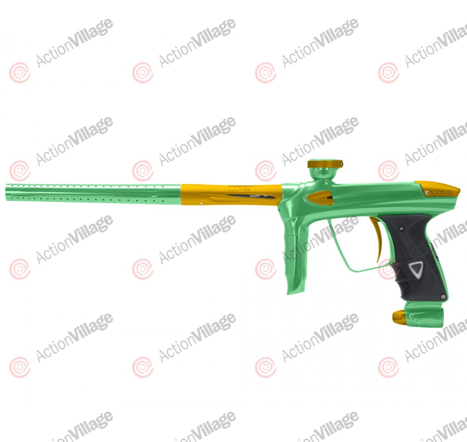 DLX Luxe 2.0 Paintball Gun - Slime Green/Dust Gold