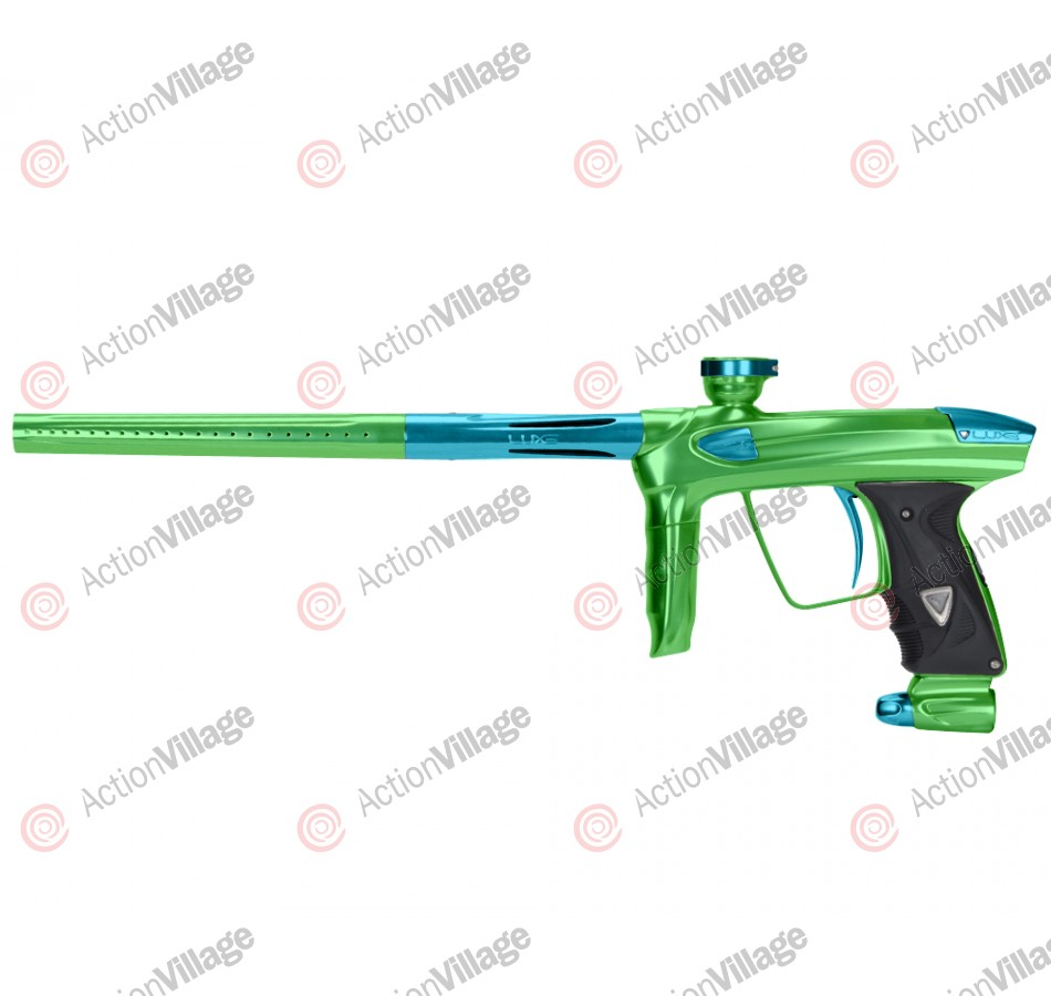 DLX Luxe 2.0 Paintball Gun - Slime Green/Teal