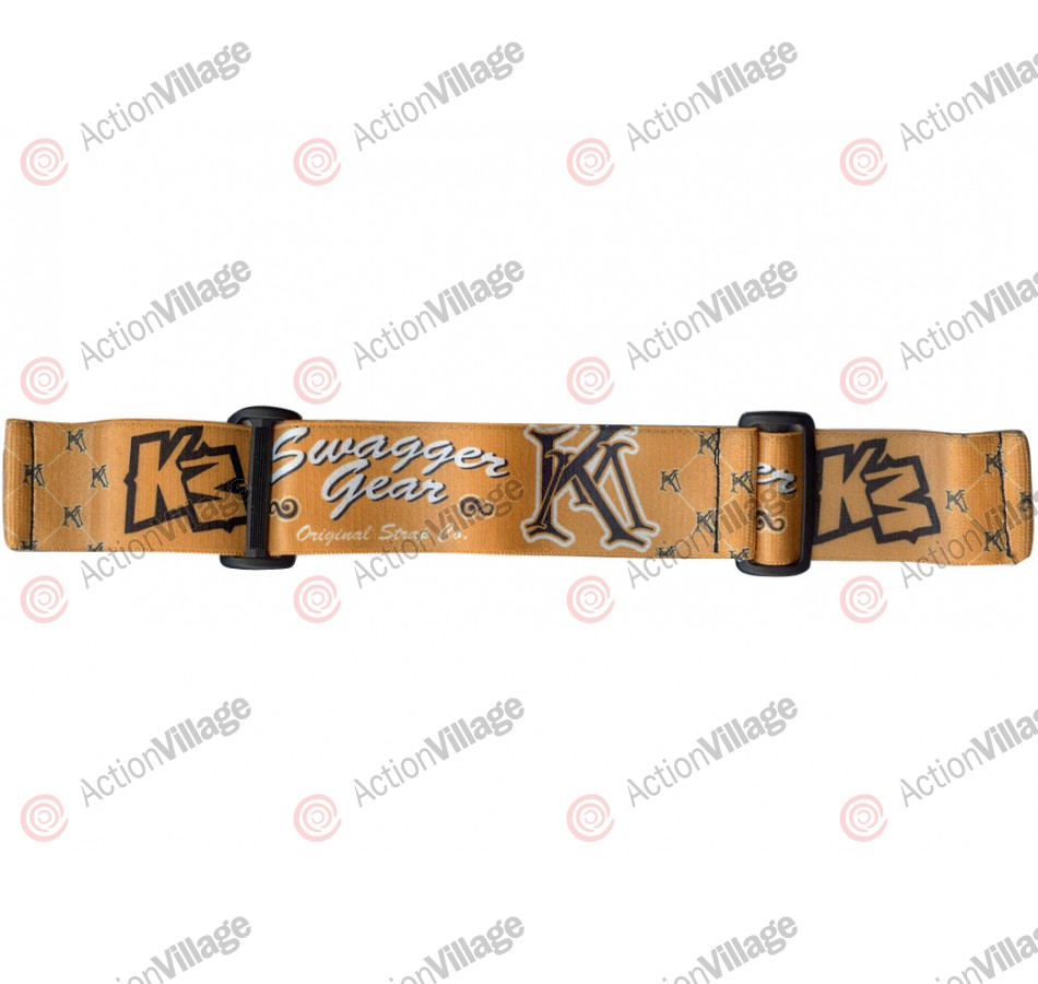 KM Paintball Goggle Strap - 09 Swagger Gear