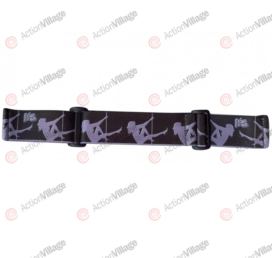 KM Paintball Goggle Strap - 09 Steel Stripper