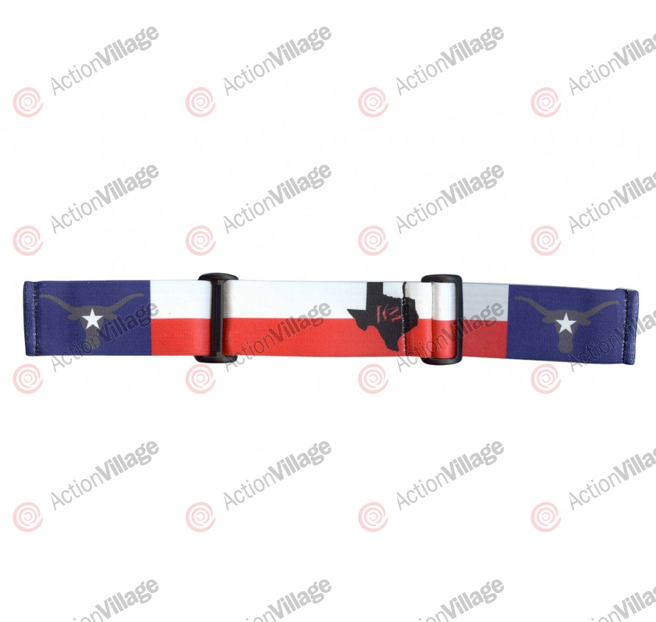 KM Paintball Goggle Strap - 09 Texas