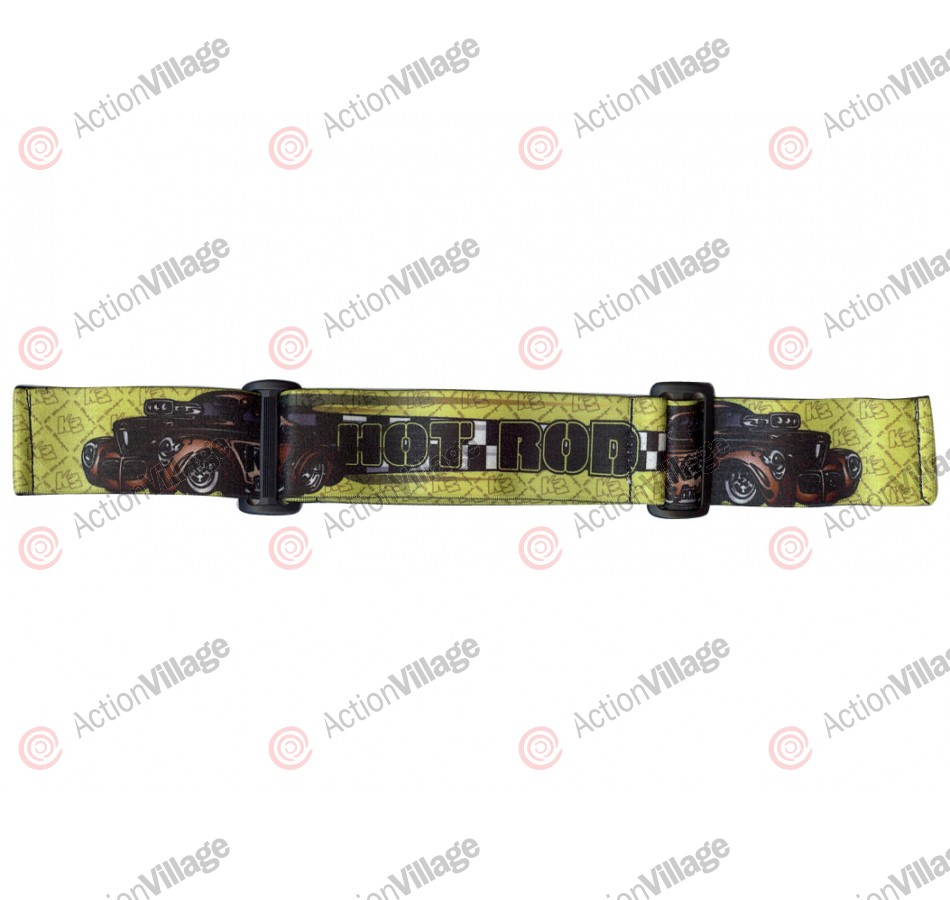 KM Paintball Goggle Strap - 09 Hot Rod